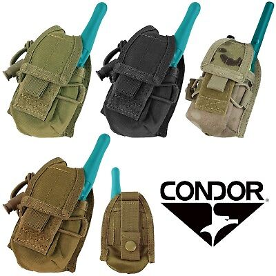 Handheld Radio Pouch - Condor MOLLE PALS HHR Handheld Radio Multi-Purpose Tactical Utility Pouch MA56