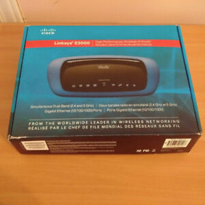 Great Condition Linksys E3000 Router