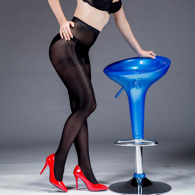 37b89c7be2e20 Women Satin Touch 8D 70D Tights High Gloss Luxury Shine Pantyhose Dance +  Crotch