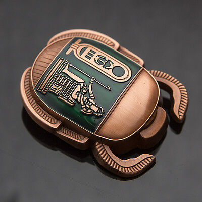 Copper/Green Egyptian Scarab Geocoin *2016* - Geocaching - 50 MADE