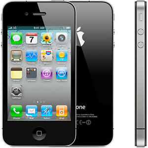 Black Iphone 4 almost mint// Rogers