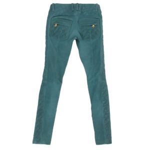 BALMAIN TEAL LEATHER PANTS- BRAND NEW CONDITION! - $500
