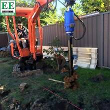 Auger Drives, Augers, Trenchers, Ramps, Breakers and Excavators Northmead Parramatta Area Preview