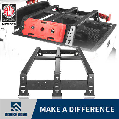 Hooke Road High Bed Rack Truck Luggage Carrier Mount For Toyota Tundra 2014-2020