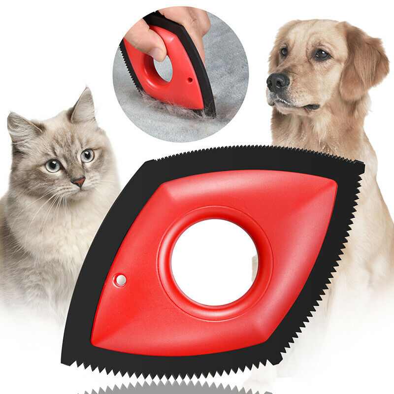 4 In 1 Pet Hair Remover Cat Cleaning Tools Carpet Clothes Removal Brush Tool XE