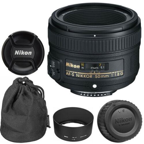 Купить Nikon AF-S NIKKOR - NEW Nikon 50mm f/1.8G AF-S NIKKOR Lens for Nikon DSLR Cameras