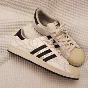 """Adidas Superstar """"Barbed Wire"""" Shoes - Size 11"""