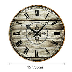 15 Large Diameter Retro Wall Clocks Home Room Decor Antique Wintage Numbers
