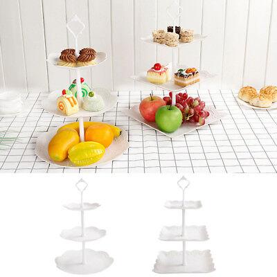 Etagere 3 Etagen Teller 3 stufig Tortenständer Muffinständer Cupcake Ständer