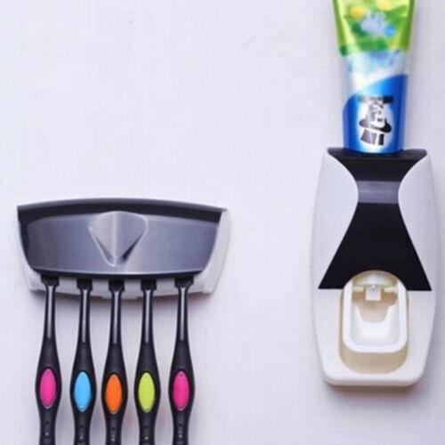 Zahnpastaspender Zahnbürstenhalter Zahnbürste ohne Bohren selbstklebend PD