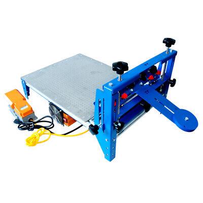 16 X 20 Micro-adjust Screen Printing Machine With Vacuum Pallet Silk Press