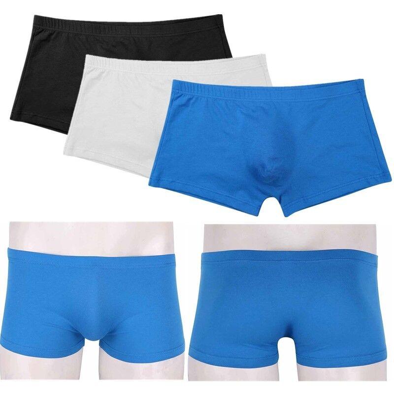Mens Trunks Underwear Boxer Briefs Shorts Bulge Pouch U Convex Underpants  M-XXLUSD 1.96 09df0bf86e64