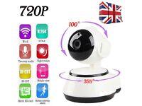 Baby CCTV Wifi Network IP Pan Tilt 720P HD Camera Night Vision