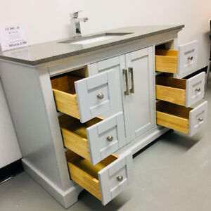 "36"",48"",60""SOLID WOOD Bathroom Vanities( WAREHOUSE SALE)"