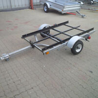 Homemade Tilt trailer-Wired with lights, ready to go!