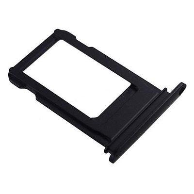 "Apple iPhone 7 4.7"" Sim Card Holder Slot Sim Card Tray Replacement Black"