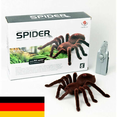 RC Ferngesteuerte Spinne Fernbedienung Spider Spielzeug Lustig Halloween Toys