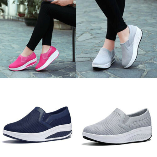Women Casual Sneakers Shoes Sport Fashion Height Increasing