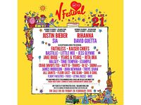 V FESTIVAL 2016 HYLANDS PARK, CHELMSFORD RED CAMPING WEEKEND TICKET