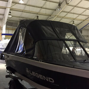 Complet Set of Legend 18 Xtreme Boat Canvas NEW!!!