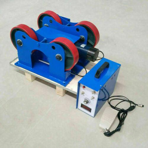 2200 lb Digital Turning Roll Weld Positioner Welder Rotator Welding Roller Rack