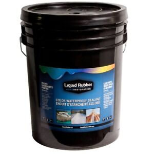 5 Gallons Liquid Rubber for RV Roof recoating or Waterproofing