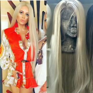 Brand New Beautiful Ash Blonde Lace Front Wig. 18-30inch Ava New Farm Brisbane North East Preview