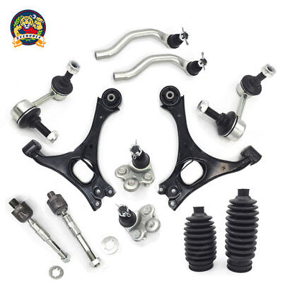 Fit 2006-2011 Honda Civic Lower Control Arm Ball Joint TieRod Kit Non-Si Models