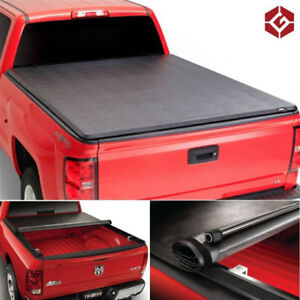Roll Up Style Tonneau Cover 07-18 Chevy Silverado & GMC Sierra
