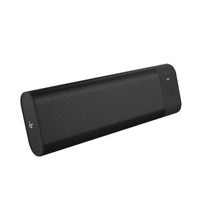 KitSound Boombar Plus Portable Bluetooth Speaker - Black