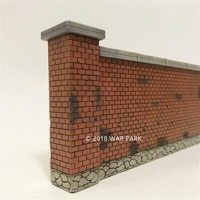 War Park WS007 WWII War Scene Factory Red Brick Walls 1/30 Model 207* 112mm
