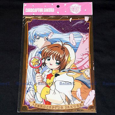 Cardcaptor Sakura Yue Keroberos jumbo foil etch sticker THNS0004 Card Captor