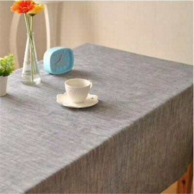 Solid Color Striped with Simple Theatrical Drape Factory Outlets Table Cloth ()