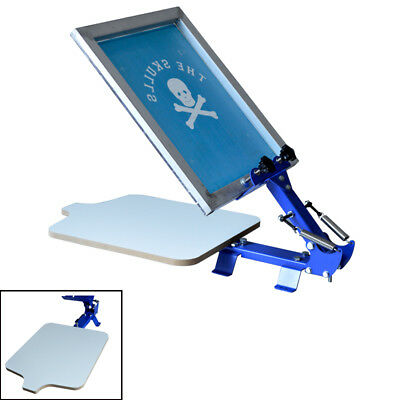 Screen Printing Equipment 1 Color T-shirt Screen Silk Press Machine Starter Tool