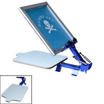 Screen Printing Equipment 1 Color T-shirt Screen Silk Press Machine Starter Tool