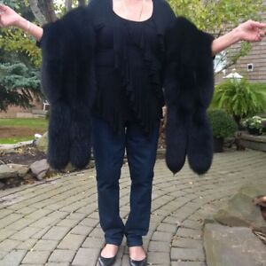 Fur Stole with Tails (Fox)