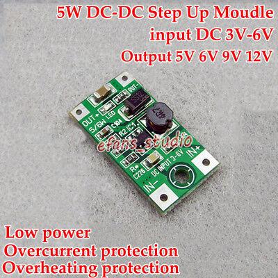 Dc-dc Boost Step Up Voltage Converter 3.3v 5v 6v 9v 12v Mini Power Supply Module