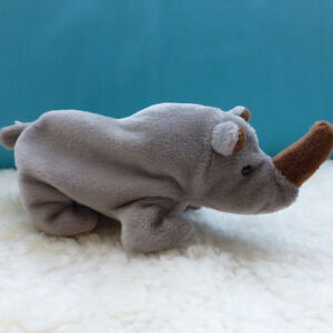 Brand new with tags TY Beanie Babies Rhino plush toy London Ontario image 4