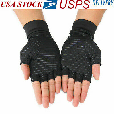 1 pair Copper fit Compression Arthritis Gloves Best Copper Infused Fit