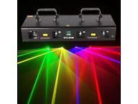 460mW Red Green Purple Yellow DJ Laser Light Party Stage Disco DMX LED