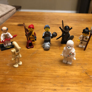 Lego Minifigures (Ninjago, Star Wars, Batman)