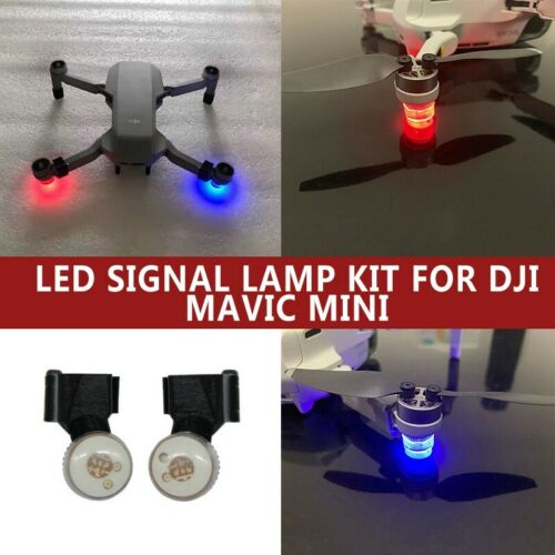 For DJI Mavic Mini Drone Accessories Mini Night Flying Light LED Signal Lamp Kit
