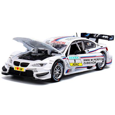 1:32 BMW M3 DTM Metal Diecast Model Car Toys Collection Sound&Light Best