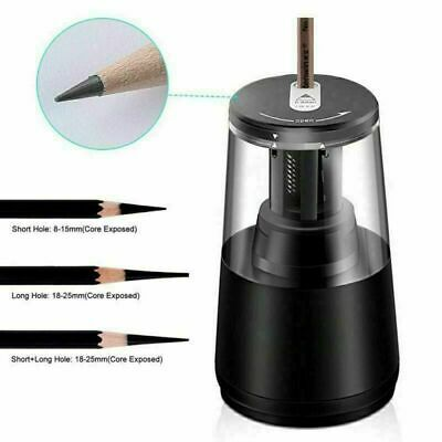 Pencil Sharpener Desktop Bk Automatic Electric Heavy Duty Usbbattery Operated