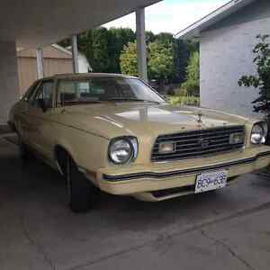 1977 Mustang...Collectors...Great First Vehicle for Beginner