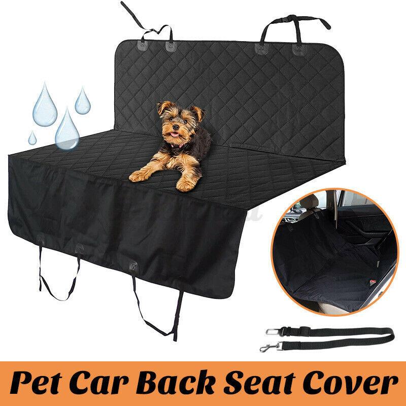 Waterproof Pet Cat Dog Back Car Truck Seat Cover Hammock NonSlip Protector  Q
