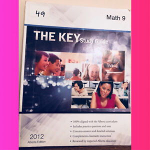 Grade 9 math The Key study guide