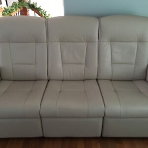 Reclining Sofa with Matching Chair & Ottoman