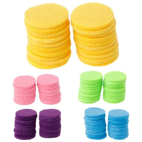 20Pcs 30mm Round Refill Pads for Car Aromatherapy Essential