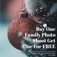 Buy 1 get 1 FREE - Family Photo Sessions